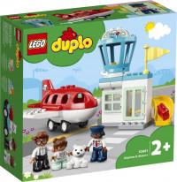 LEGO DUPLO Vliegtuig & Vliegveld - 10961