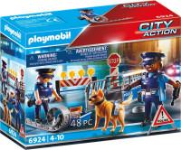PLAYMOBIL City Action Politiewegversperring - 6924