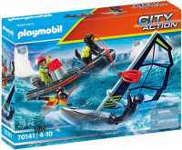 PLAYMOBIL City Action Redding op zee: redding met poolglijder met rubberen sleepboot - 70141