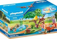 PLAYMOBIL Family Fun Rode panda's in het buitenverblijf - 70344