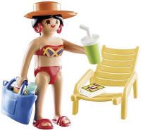 PLAYMOBIL Special Plus Vakantieganger met strandstoel - 70300