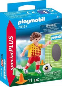 PLAYMOBIL Voetballer met doel - 70157