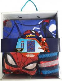 Spiderman Cadeau! Sokken + Spiderman Deken 100x150 + Slaapmasker - Geschenkverpakking - Spiderman Cadeau - Cadeau Voor Kinderen - Verjaardagscadeau kinderen - Disney Speelset