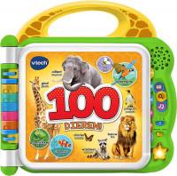 VTech Baby Mijn Eerste 100 Woordjes Dieren - Educatief Babyspeelgoed - Baby Woordjes Leren