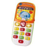 VTech Baby Telefoon - Interactief Speelgoed - Educatief Kindertelefoon - Oranje