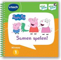 VTech MagiBook Activiteitenboek Peppa Pig - Samen Spelen! - Educatief Speelgoed - Niveau 1